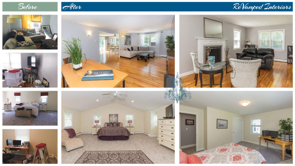 Occupied Home Staging in Groton, MA