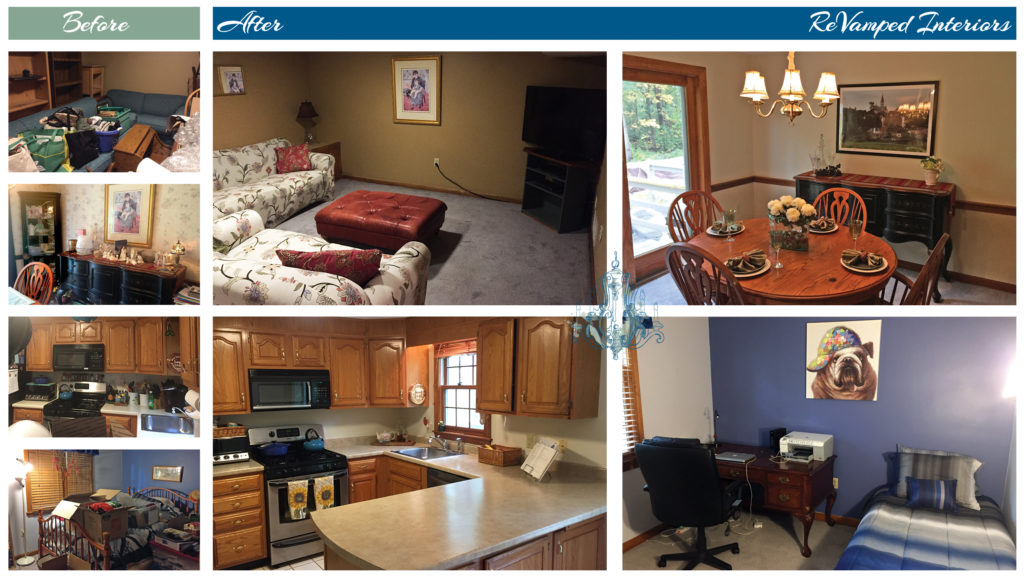 Pre-Vamped Occupied Condo + Staging in N. Chelmsford, MA