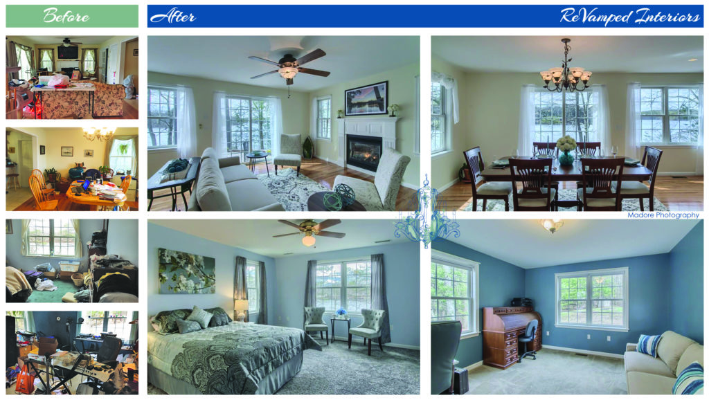 Occupied Home Staging in Harvard, MA
