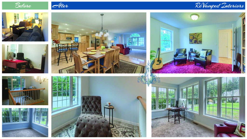Occupied Home Staging in Townsend, MA